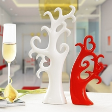 Creative lucky tree ceramic fashion wedding gift home decor(China)