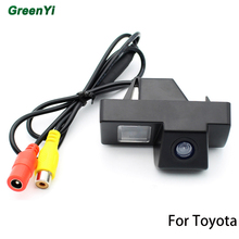 CCD Rearview Camera For Toyota Land Cruiser 100 / Prado 120 Reverse Camera Waterproof HD Night vision Parking Line