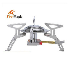 Fire Maple Gas Burner Mini Lighter Outdoor Camping Equipment Portable Gas Stove Cookware Propane Butane BBQ Grill Folding