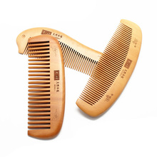 Handmade Natural Hair Combs Sandalwood Wooden Comb Health Care Head Messager Hair Comb Hair Brush M03392