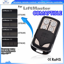 DHL Free shipping cost !!! 50PCS CompatibleW 371LM LiftMaster 315mhz Remote 373lm 370lm popular in USA & Mexico market(China)