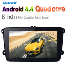 "8"" Ultra Slim Android 4.4.2 Quad Core Car Media Player With GPS Navi Radio  For Skoda Octavia/Seat/Altea/Leon/Tolendo/Alhambra"