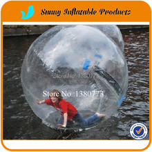 Free Shipping TIZIP zipper inflatable water ball,water walking ball factory price
