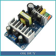 10Pcs/Lot AC 85-265V To DC 24V 4A-6A 100W   Power Supply Converter  Industrial Switching Board Module Bare Board  XK-2412-24