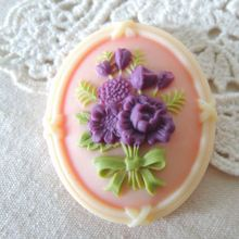 tart candle flowers molds j1024