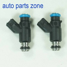 MH Electronic Set of 2 Pieces 2pcs/lot Engine Fuel Injector For Chinese Car Mini bus Truck 2823-9887 28239887 7302C S50 RE58 NEW