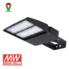 2pcs/lot AC85-265V 12v-24v IP65 wall square pole mounted led parking lot light box shoe light 100w 200w 300w(China)