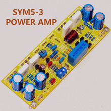 2 PCS 200W Audio Amp Symasym5-3 classic circuit BD139 + NJW0302 / 0281 + 2SC5171 / 2SA1930 discrete component amplifier board(China)