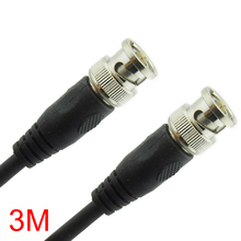 3M/9.84FT BNC Male to BNC Male Connector RG59 Coaxial Cable For CCTV Camera(Hong Kong,China)
