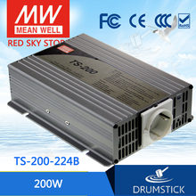 Hot sale MEAN WELL TS-200-224B EUROPE Standard 230V meanwell TS-200 200W True Sine Wave DC-AC Power Inverter(China)