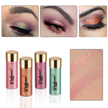 2017 New Brand Professional Pigment Glitter Powder Eye Shadow Single Color Long Lasting Glitter Red Eyeshadow Powder Makeup Kit