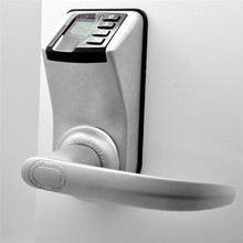 Biometric Electronic Door Lock Fingerprint, Code, Mechanical Key Access Control Adel 33988 Trinity Password Keyless Lock