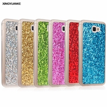 Buy XINGYUANKE Samsung Galaxy J7 Prime Luxury Bling Glitter Case Samsung On7 2016 Phone Cases Soft Silicone Cover Coque for $1.88 in AliExpress store