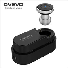 New Ovevo Q21 Mini Bluetooth Headset In Ear Micro Earpiece Smallest Sport Earphones Wireless Earbuds Cheapest Earphones USB 2in1
