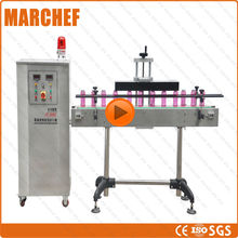 2300W water cooling 15-121mm bottle CE ISO Vertical High speed induction Aluminum foil sealing machine(China)