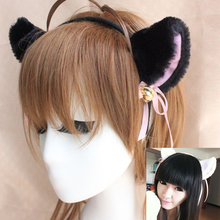 2017 New Fashion Cat Shape Headband For Women Cosply Hair Bands Cat ear Hairband Plaited Braided Hair Accessories