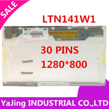 FREE SHIPPING A + LP141WX1 LP141WX3 B141EW04 LTN141AT13 LTN141W1-L04 for HP DV2000 V3000 CQ40 CQ45 HP500 HP520 HP540 HP541 lcd