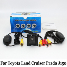For Toyota Land Cruiser Prado LC 150 LC150 2010~2016 / Wired Or Wireless / CCD Night Vision / Rear View Camera / Wide Lens Angle