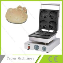 Electric Hello Kitty shape waffle maker machine; Waffle mould