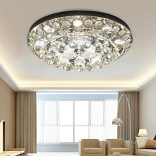 2017 New Products Led Crystal Ceiling Light 110v-220v Home Lighting Golden Round Ball Kids Ceiling Lamps Damaged Replacement(China)