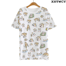 Hot doge T-shirt Anime men tshirt Milk Wire short-sleeve Summer student Tees tops As Birthday gift(China)