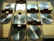 Promotion sale of 5PCS general purpose cold press sintering 350*25.4*12mm segmented diamond saw blades for concrete cutting