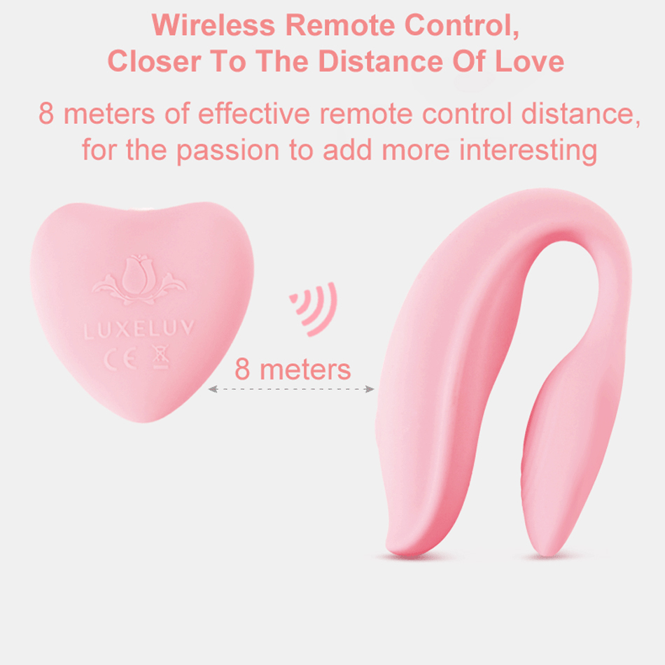 WOWYES Waterproof Silicone Vibrators for Couples Wireless Remote Control G spot Vibrator Body Massager Adult Sex Toys for Women<br>