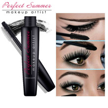 Perfect Summer Professional Volume Curled Lashes Black Mascara Waterproof Curling Tick Eyelash Lengtheing Eye Makeup Mascara(China)
