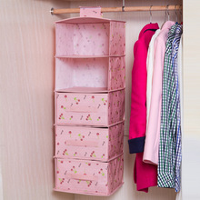 Wardrobe hanging storage bag Waterproof clothing storage bag with drawers for choose(China)