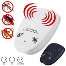 New Arrival Electronic Ultrasonic Rat Mouse Repellent Anti Mosquito Repeller Killer Rodent Pest Bug Mole Reject BS