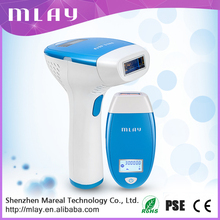 2017 NEW!!! Factory direct sale manufacturer Mlay 300 000 flashes long lamp life home use IPL hair removal device
