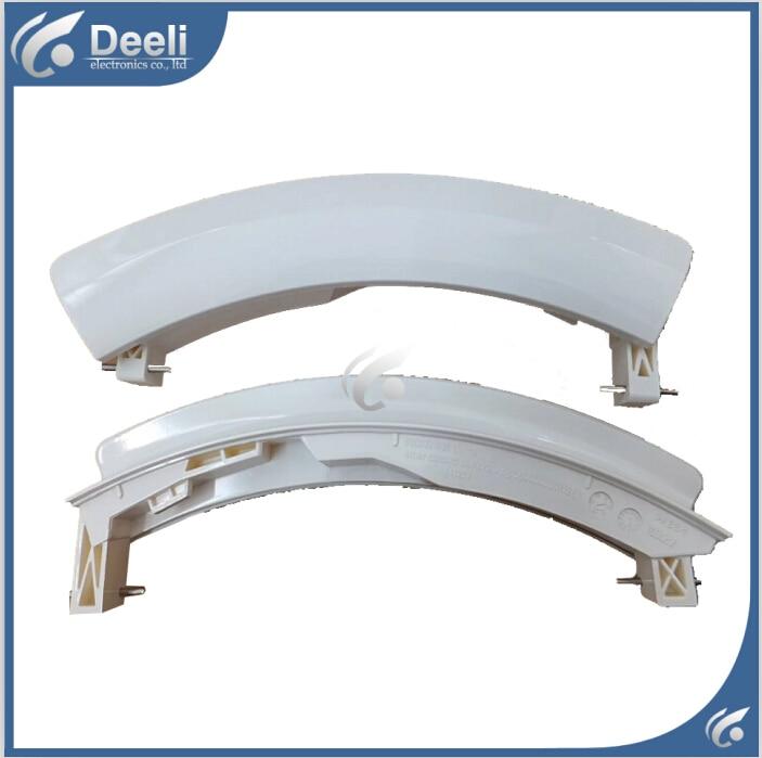 1pc white new for washing machine parts door handle door handles door switch WS08M360TI WM10S360 good working<br><br>Aliexpress