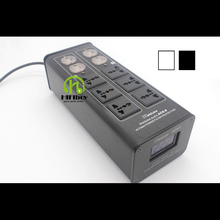 Power filter Weiduka AC8.8 power supply socket lightning protection with voltage display