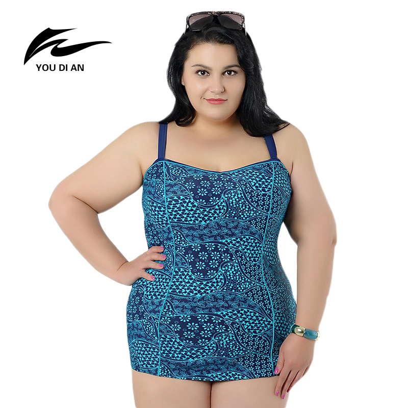 YOUDIAN Sexy Plus Size One Piece Swimsuit Hot Sale Women Swimwear Biquini One Piece Bathing Suit Lady Swimming Suit For Women<br>