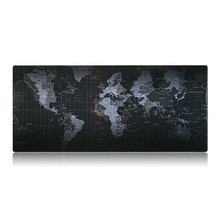 2017 Super large World Map rubber mouse pad computer game tablet mouse pad 800*300*2mm For PC Laptop Computer Durable