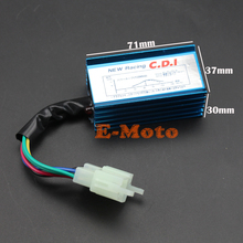 6 Pin Racing Ignition AC CDI Box For 50 70 90 110 125 150 250 cc Chinese ATV Quad Dirt Pit Bike BLUE