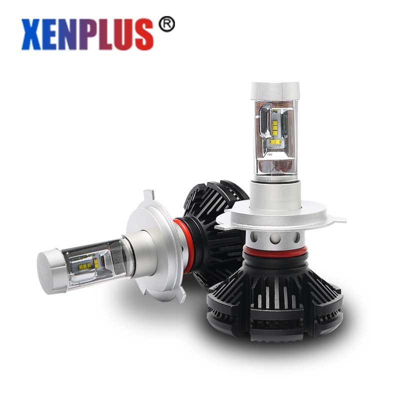 2 pcs 12 Months Warranty X3 led bulbs h4  h7 h11 9004 9005 9006 9007 led lamps for car<br>
