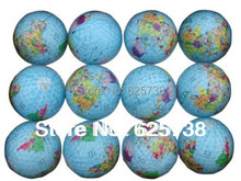 2017 new design golf ball high quality golf globe gift ball collection golf ball trainers ball 6pcs / lot free shipping(China)