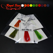 10colors 2.5'' long fibers mayfly tail fly fishing tying synthetic mayfly tails watershed treated nylon slim &robust microfibers