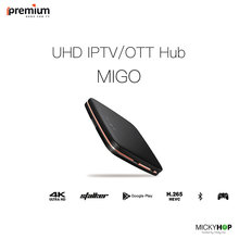 Global Version Ipremium Migo TV Box Mickyhop OS Stalker Android 6.0 4K 8GB HD  IPTV Smart Media Player better than Mag250