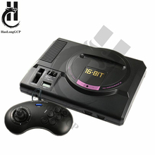HaoLongGCP HDMI TV Out Video Game Console For SEGA MEGA Drive Simulator MD Computer Video Console with free cartridge 21 games(China)