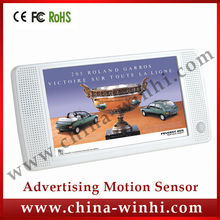 7 inch Motion sensor portable lcd advertising player High Quality Real Supplier Speedy Delivery tft media player shop equipment