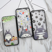 Fashion Japan Cute Totoro Case for iPhone 6 6S plus 7 Plus 5 5S SE Hayao Miyaz Hard Back cover Carcasa Capa Funda Coque Hot