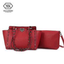 Buy KULUOSIDI Famous Brands New Fashion Composite Bag Rive Tote Bags Women Leather Luxury Handbags Women Messenger Bags Designer for $21.85 in AliExpress store