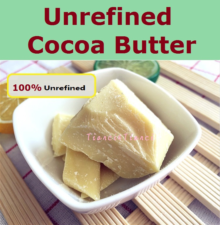 Hot Selling Cocoa Butter 200G / Bag Raw Natural Cocoa Butter base oil refined ORGANIC Unrefined 2017 NEW Essential Oil<br><br>Aliexpress