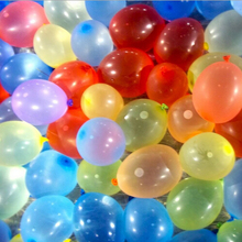 100pcs/lot Hot Sale Water Bombs Pack 100 Balloons Water Magic Balloon 3# For Bunch Supply Toy air balloons