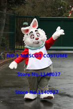 RABBIT mascot costume from cartoon character mascotte anime cosplay costumes carnival fancy dress kits