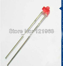 RED diffused 1.8mm led diode 2mm light emitting diode 2.0-2.2V 620-630nm(CE&Rosh)