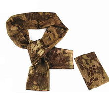 2016 Versatile Arab Army Tactical Camouflage Scarf Men Military Jungle Combat Windproof Mesh Shawl Veil Shemagh Hunting Scarves