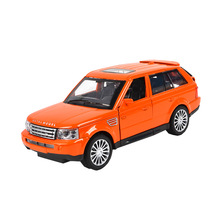 Toy Vehicle Range Rover SUV Car with light and sound, Pullback 15CM(China)